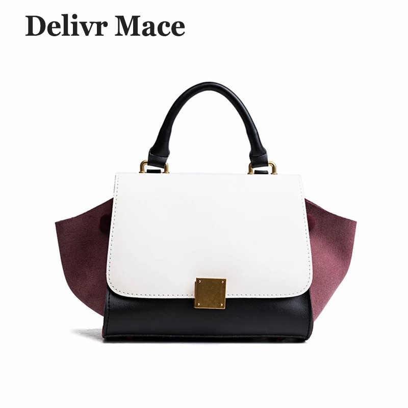 361f84e716 Designer Handbags High Quality 2018 Newest Scrub Leather Wings Bag Women Messenger  Shoulder Bags Small Trapeze