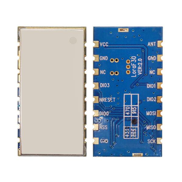 US $185 85 30% OFF|20pcs Lora1276F30+Spring antenna 868mhz Arduino Demo  Code 27dBm 500mW 6Km to 8Km 868mhz/915mhz LORA Module sx1276 -in  Replacement