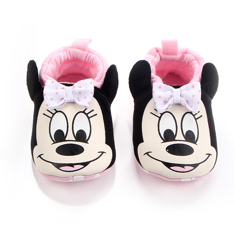 Fashion Cotton Cloth Baby First Walker Cartoon Infant Boy Girls Shoes Bebe Toddler Moccasins Non-slip Soft Bottom Shoes | Happy Baby Mama