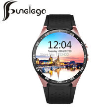 Funelego New Round Smart Watch Android Wear For Apple Bluetooth Clocks Deep Waterproof GPS MAP With