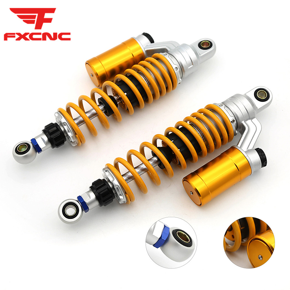 For Honda Monkey Bike Z125 2018 2019 320mm 340mm CNC Aluminum Adjustable Motorcycle Rear Shock Absorber