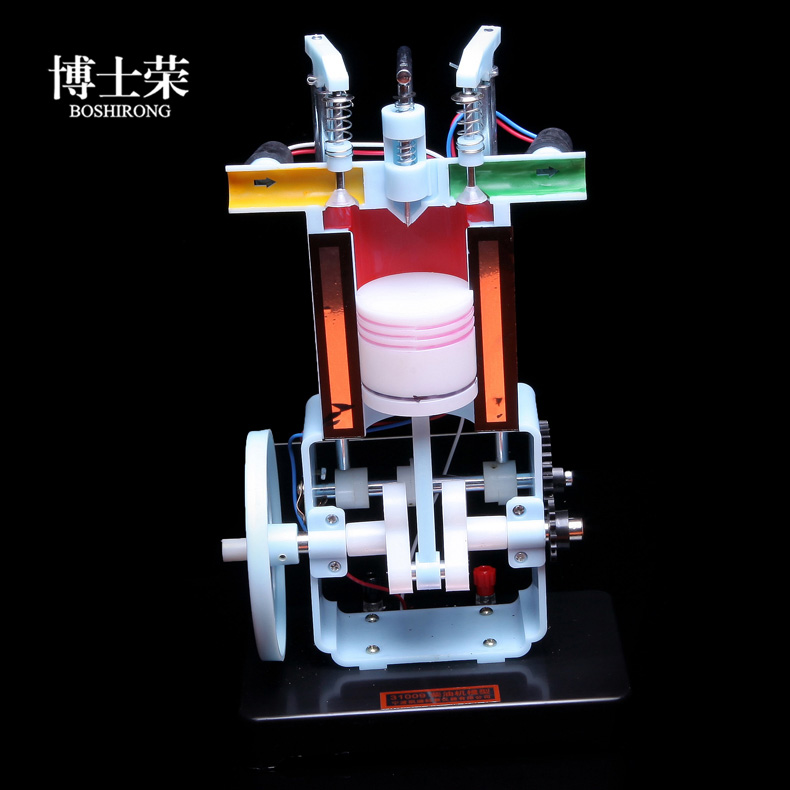 Diesel engine model physical experimental equipment  How the internal combustion engine worksDiesel engine model physical experimental equipment  How the internal combustion engine works