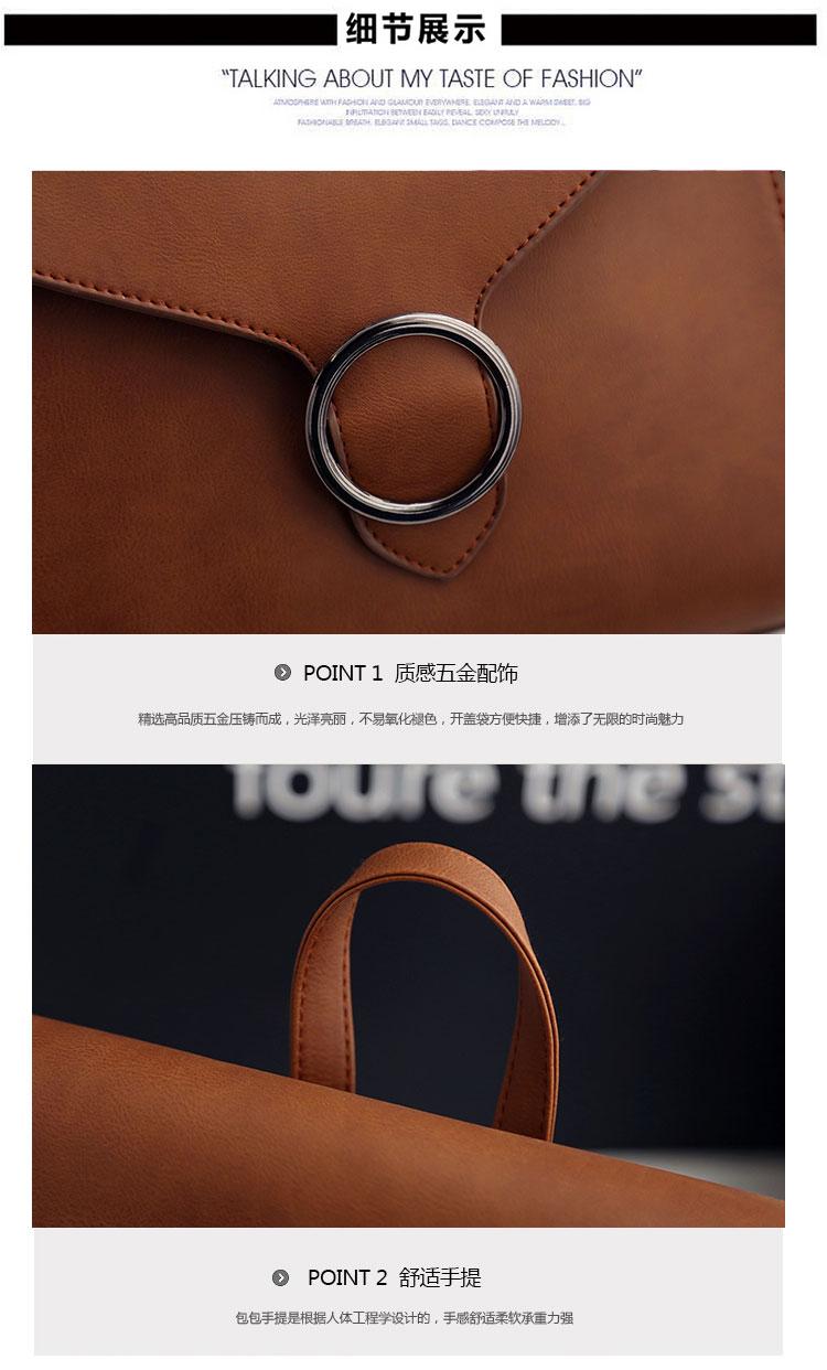 Retro Women's Rucksack Bag 10