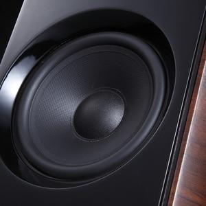 Image 2 - Altavoz combinado con Bluetooth, potencia de salida de altavoz, amplificador de tubo electrónico de 60W, sistema de estéreo HIFI de estantería, columna de reproductor de CD y DVD