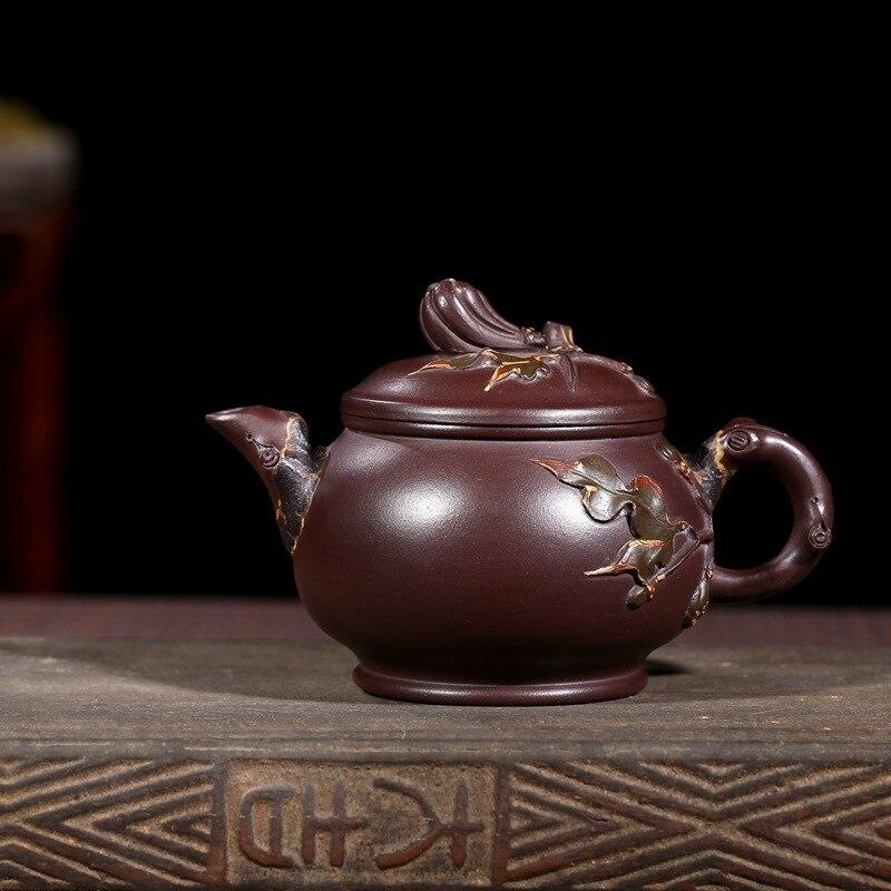 Yixing dispositions quotidiennes en gros tous les doigts main citron mélange lot de thé bouilloire a s'engage à vendre la vraie chose