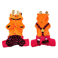 New Pet Halloween Christmas Elk Transfiguring Clothes Warm And Comfortable Clothing Party Supplies Outdoor Accessoryes 1