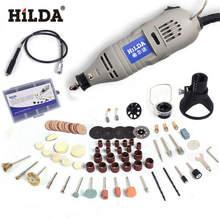 Electric-Drill Hilda 150w Power-Tools Grinding Mini for Dremel with 6-Position Variable-Speed