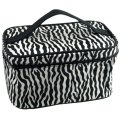 FGGS Hot women Striped Pattern Foldable Makeup Cosmetic Hand Case Bag