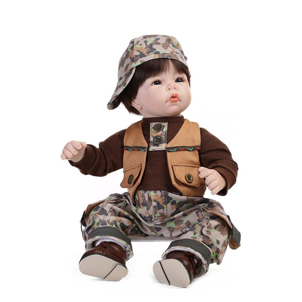 Fashion Toys For Boys : ᗔsimulation newborn baby Ξ boy doll with clothes and
