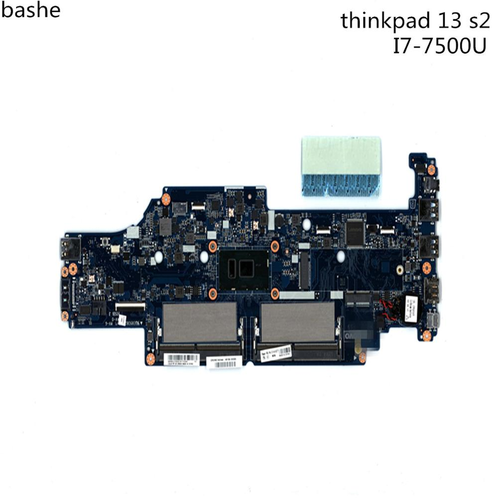 For Lenovo ThinkPad 13 s2 laptop motherboard CPU i7-7500 FRU:01HW977 100% test free shippingFor Lenovo ThinkPad 13 s2 laptop motherboard CPU i7-7500 FRU:01HW977 100% test free shipping