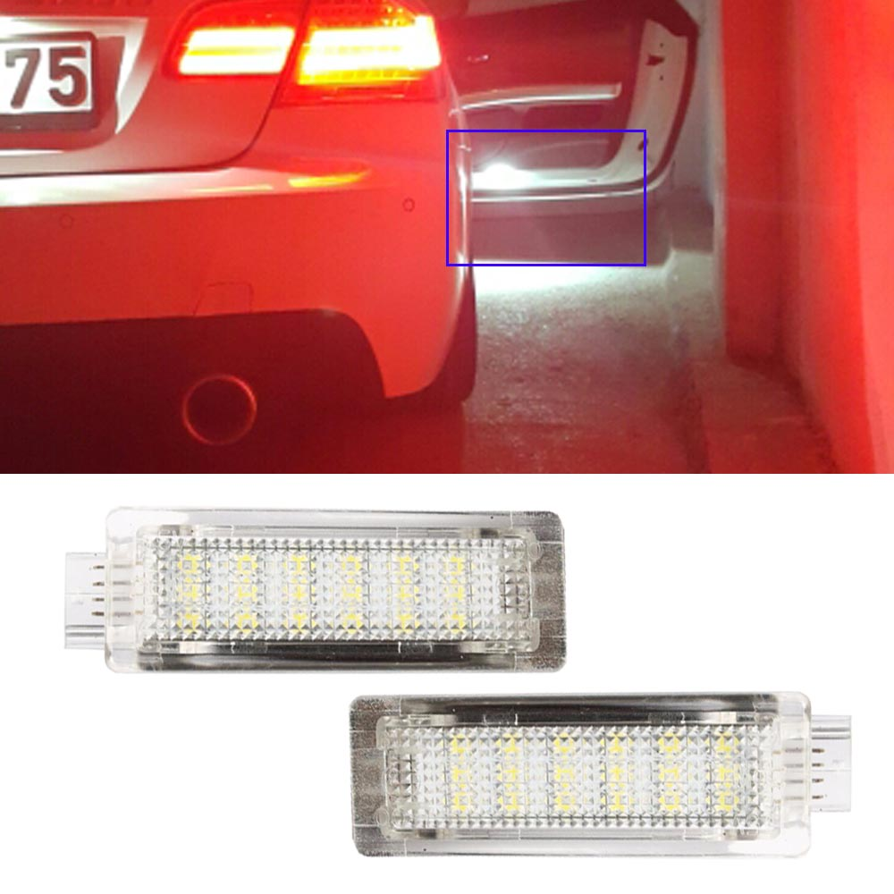 2x <font><b>LED</b></font> Car <font><b>INTERIOR</b></font> Door Courtesy Welcome Light For <font><b>BMW</b></font> <font><b>E60</b></font> E63 E90 E92 E93 X1 X3 X5 X6 Z4 M3 M5 12V Car Parking Light source image