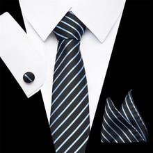 2019 New Brand Fashion Mens Tie Set Neck Pocket Square 7.5cm Classic Floral Paisley Corbatas Ties for Men Suits
