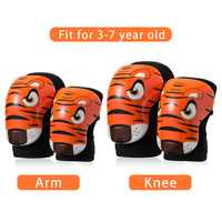 ROCKBROS 4 pieces Children Elbow Pads Knee Pads EPS Breathable Kids Knee Pads Sport Safety Cycling Skiing Child Arm Leg Protect