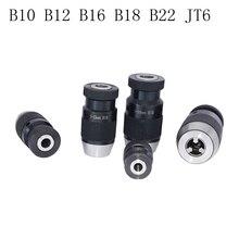 Drill-Chuck Spring-Clamp Conical-Drill Chuck-Power Self-Tension B12 B16 B18 B10 Keyless