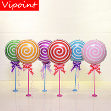 VIPOINT PARTY 45cm pink blue red sweets candies foil balloons wedding event christmas halloween festival birthday party HY-97