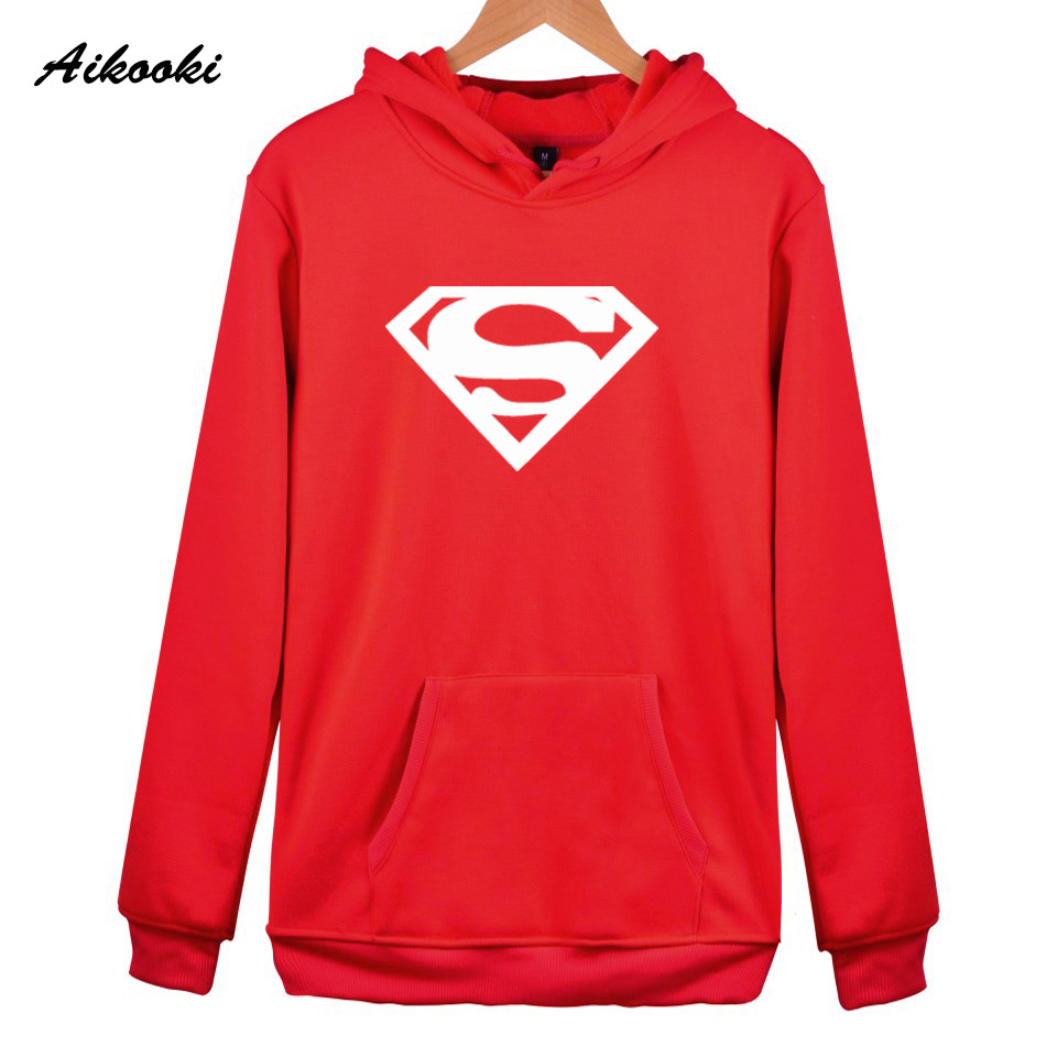 Hoodies women/men Sweatshirt Superman Hoodies men Fashion Aikooki Sweatshirts Women Hoodies Casual Men Hoodie Superman Clothes