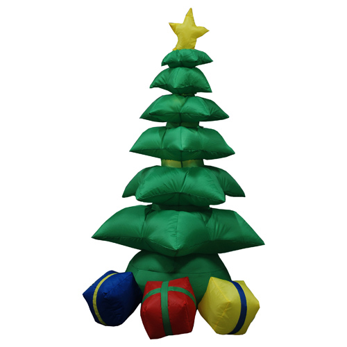 2 4 meters extra large outdoor inflatable christmas tree for Very large outdoor christmas decorations