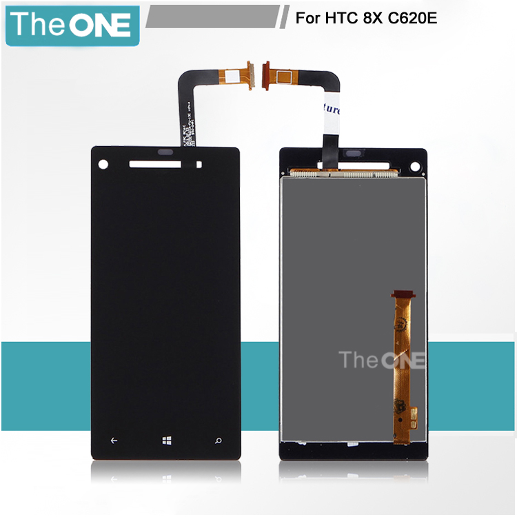 A estrenar para htc windows phone 8x c620e pantalla lcd con pantalla táctil digi