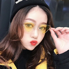 2019 New Retro Triangular Hollow Sunglasses Fashion Punk European and American Personality