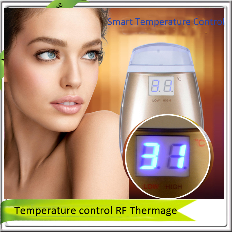 Mini LCD Display Smart Temperature Control Portable rf Radio Frequency Face Forehead Eye Wrinkle Freckle Spot Removal Massager lc171w03 b4k1 lcd display screens