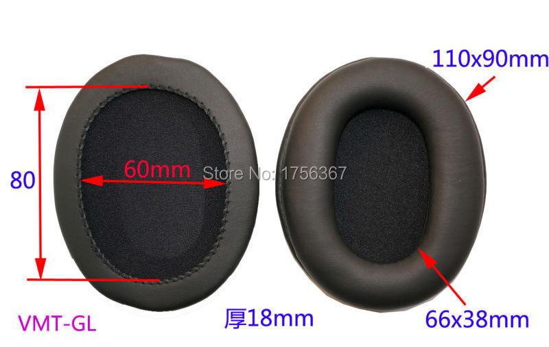 Купить с кэшбэком Ear pads replacement cover for Audio_Technica ATH-M40 ATH-M45 Headphones(earmuffes/ headphone cushion)