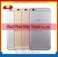"""4.7 """"для IPhone 6 S Ближний Компактные корпуса Задняя Крышка Сзади Батареи для Тела Полный Жилищно Ассамблея Flex Кабели Золота Серебристо-Серый Роза"""