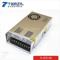 400W 48V 8 3A Single Output Switching Power Supply For LED Strip Light AC To DC
