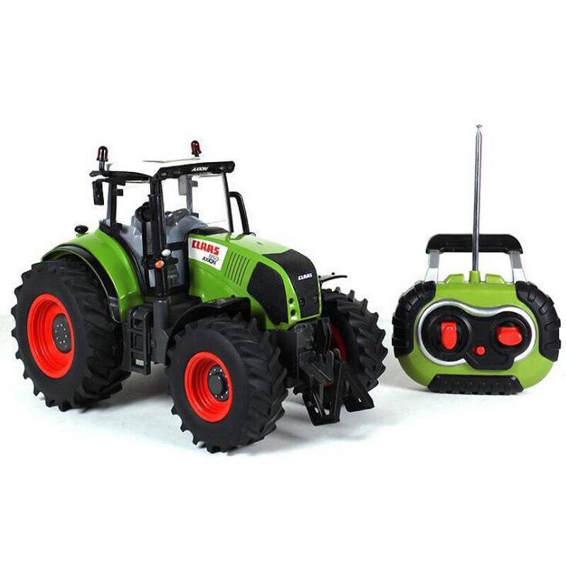 2.4G télécommande RC camion ferme tracteur remorque 1:16 haute Simulation RC camion Construction véhicule enfants jouet tracteur modèle