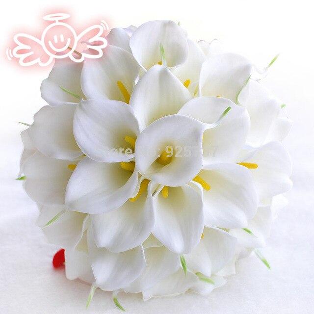Bouquet Fleur Mariage Elegant Lily Wedding Flowers Bridal Bouquets Decorations Party Supplies
