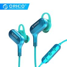 ORICO Wireless Bluetooth5.0 In-Ear Earphone Music Gaming Sports Headset for  iPhone 5s Samsung Xiaomi MP3 jbm a8 in ear earphone for iphone samsung xiaomi htc more golden black 115cm