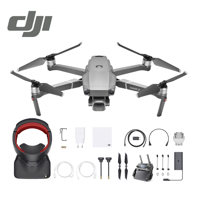 DJI Mavic 2 Pro / Zoom & DJI Goggles RE Combo In Store 1080P with 4K Video Camera Drone RC Helicopter FPV Quadcopter Original квадрокоптер набор dji mavic pro 4k quadcopter бпла чёрный