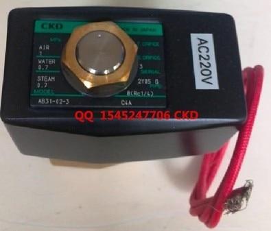 CKD solenoid valve AB31-02-3-AC110V Direct acting 2 port solenoid valve (general purpose valve) цена
