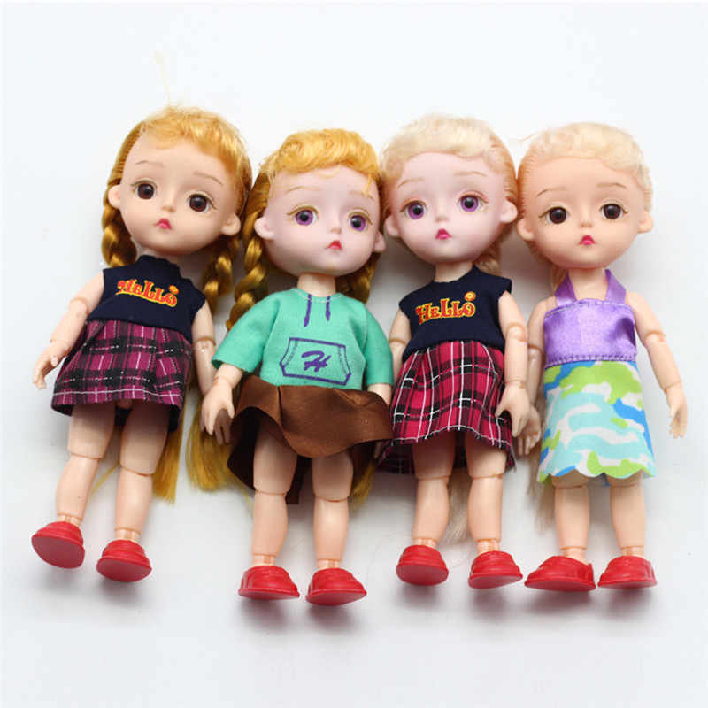 15 Cm BJD Boneka Bagian 13 Sendi DIY Berdandan Lovley BJD Asli Anak Perempuan Putri Boneka Mainan Hadiah Anak Bayi boneka Bagian Replacementor