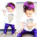Violet/Gilded Shiny Baby Kids Girls Boys Solid Cotton Hot Pants Party Trouserse Bottoms 12-24M