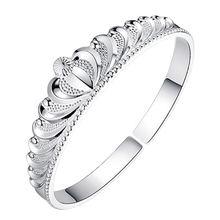 Оптовая продажа серебро 925 пробы модный дизайн короны женские