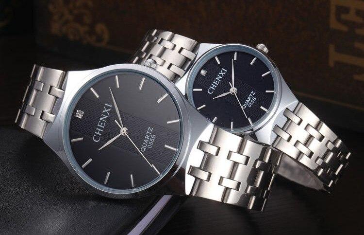 masculino relógio de pulso de quartzo de