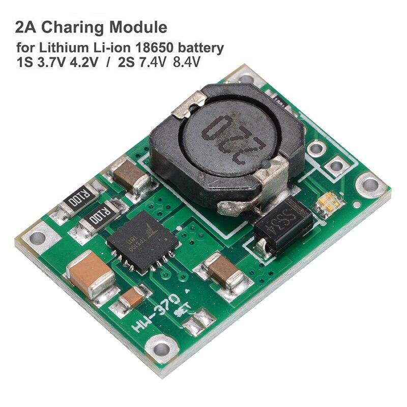 1S 3.7V 2S 7.4V 8.4V Lithium Li-ion 18650 Battery Charging Board Charger Module