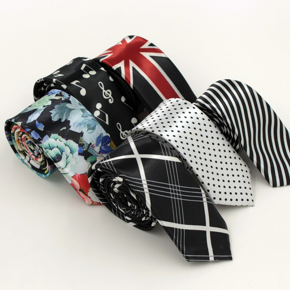 9 Colors Fashion Slim Man Ties For s