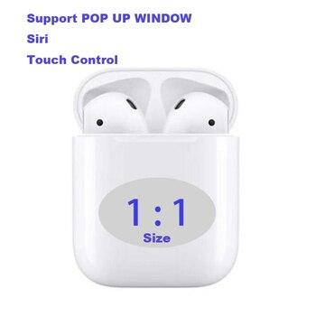 i20 tws 1:1 Size air Wireless Bluetooth earphones PK w1 chip LK TE9 LK-TE8 i10 i11 i12 i13 i14 i15 i19 for all iPhone Android