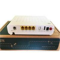 Originele Nieuwe ZTE F660 660 GPON ONU, met 1GE + 3FE + POT + WIFI, toepassing op FTTH modus, Router Versie 6.0