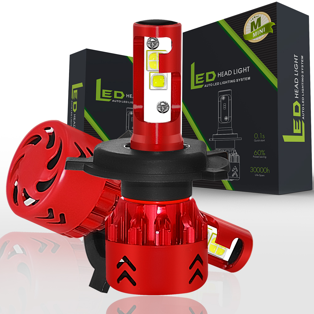 2x CREE XHP50 Chips H7 Led H4 Bulb H8 H11 9005 HB3 9006 HB4 9012 H16