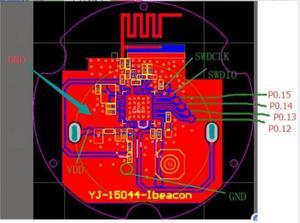 Image 5 - ארוך טווח עמיד למים programable tracker BLE4.0 NRF51822 משואה עבור iphone ועבור אנדרואיד