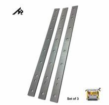 """Facas lâminas de planador para dewalt dw735, hz 13 """"hss, substituição dw735x, planador de espessura conjunto de bordas duplas 3 3"""