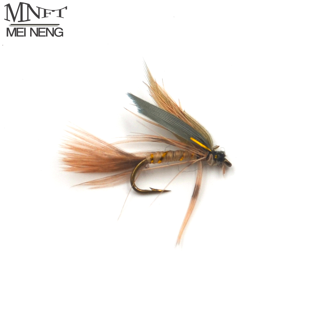 MNFT 10PCS 14# Dry Flies Economic Fly Selection Fishing Lures Golden Wire Yellow Zebra Body Fishing Flies abhaya kumar naik socio economic impact of industrialisation