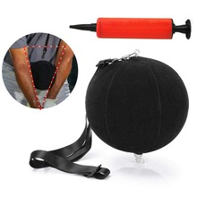 Golf Swing Trainer Aids Intelligent Impact Ball Assist Posture Correction Training Smart Inflatable Ball Drop Ship newly 2 finger silicone shot lock basketball training posture correction device ball shooting trainer sd669