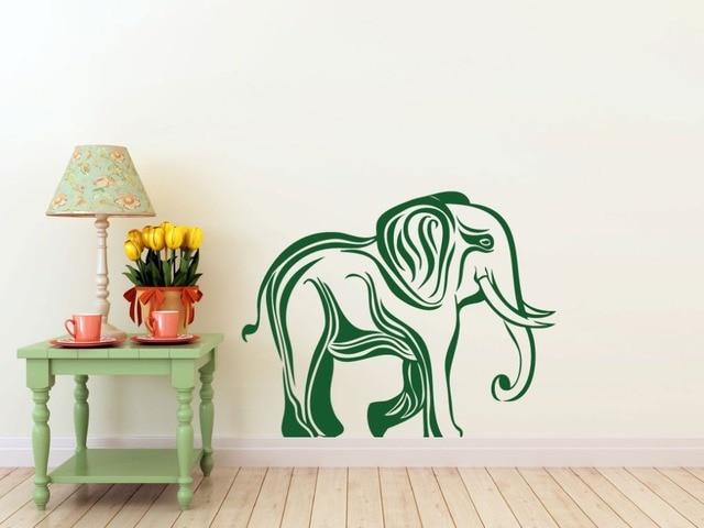 Africa Jungle Animal Elephant Wall Decal For Kids Rooms Hindu God Ganesha Elephant Pattern Interior Home & Africa Jungle Animal Elephant Wall Decal For Kids Rooms Hindu God ...