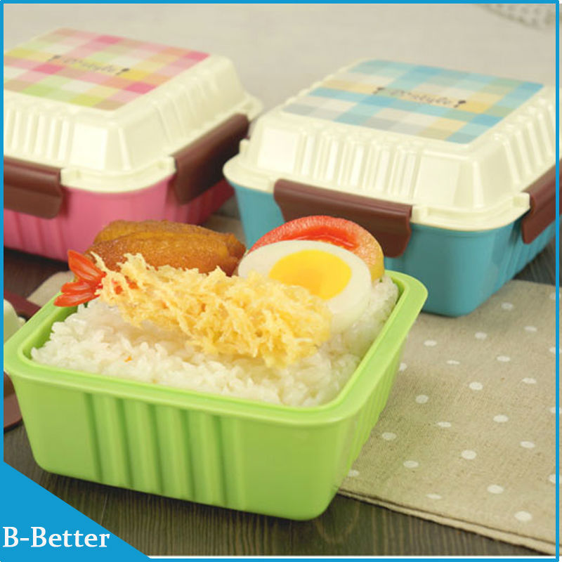 high quality 2pcs lot food container kids lunch box bento box lunch box for kids microwaveable. Black Bedroom Furniture Sets. Home Design Ideas