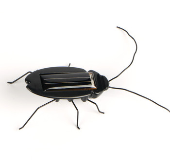 Novelty and Gag Toys Solar Power Cockroach Insect Bug Teaching Toy Gift Baby Kids Plastic Insect Solar Toy 5