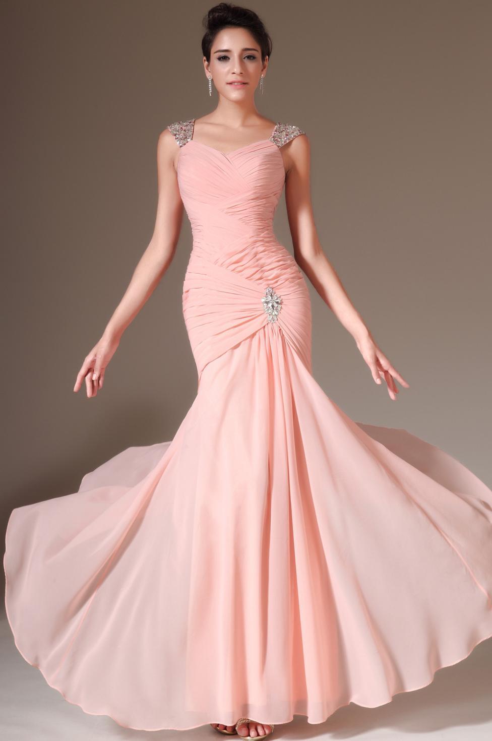 Lujo Más Los Vestidos Del Prom Del Tamaño Sirena Ideas - Colección ...