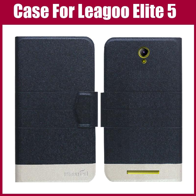 Het försäljning! Leagoo Elite 5 Fodral 5 Färger Mode Lyx Ultratunt - Reservdelar och tillbehör för mobiltelefoner - Foto 2